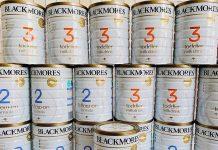 cách pha sữa blackmore 3
