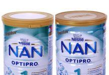 Cách pha sữa Nan Nga số 1